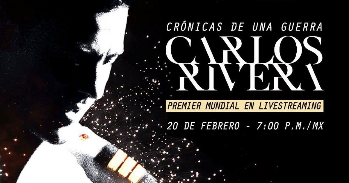 Carlos Rivera Crónicas de una guerra