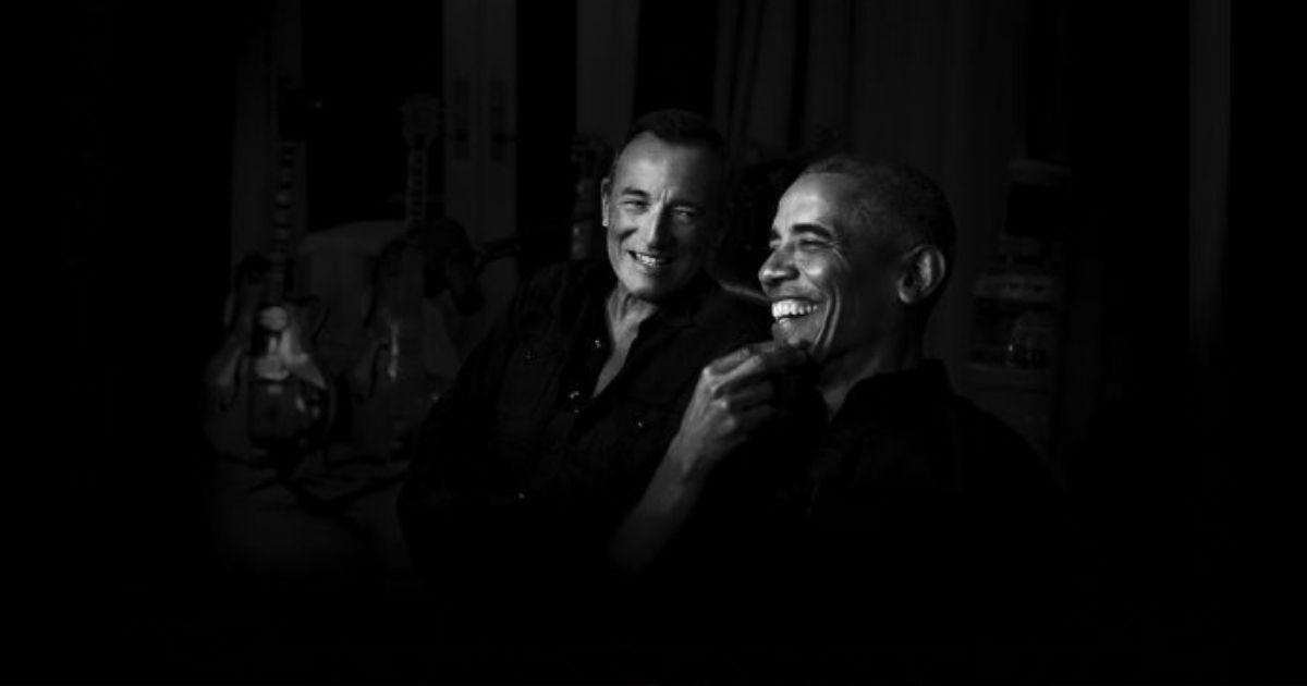 Barak Obama y Bruce Springsteen