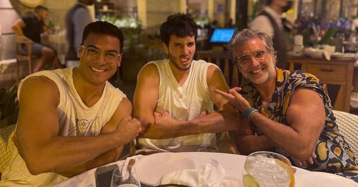 Carlos Rivera, Sebastián Yatra y Alejandro Fernández