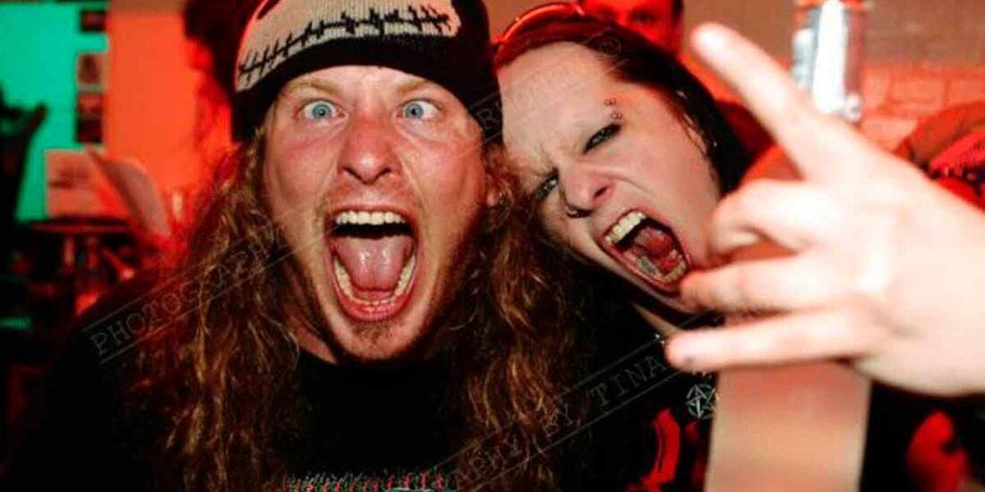 Corey Taylor y Joey Jordison