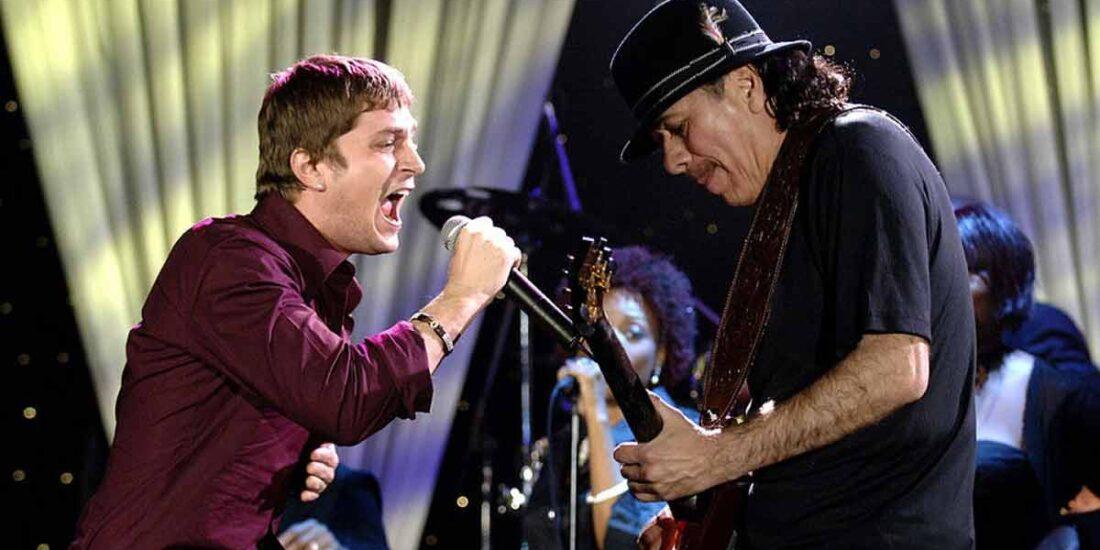 Rob Thomas y Carlos Santana